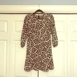 Fun leopard Dress! Perfect for work or a Party😍